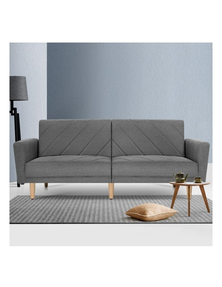 1950mm 3 Seater Sofa Bed image 3