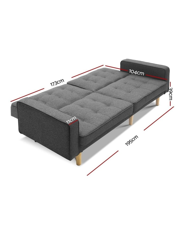 1950mm 3 Seater Sofa Bed image 2