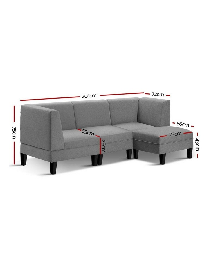 4 Seater Sofa Bed image 2
