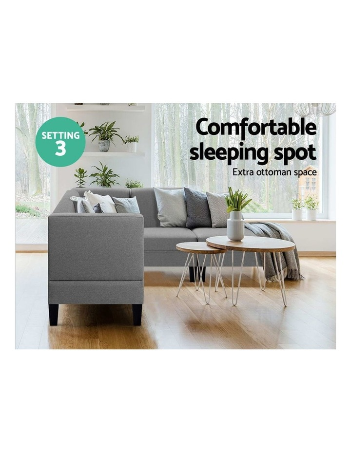 4 Seater Sofa Bed image 5
