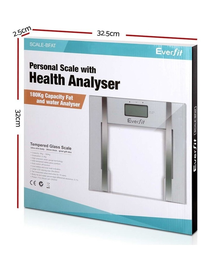 Everfit Electronic Digital Body Fat Scale image 3