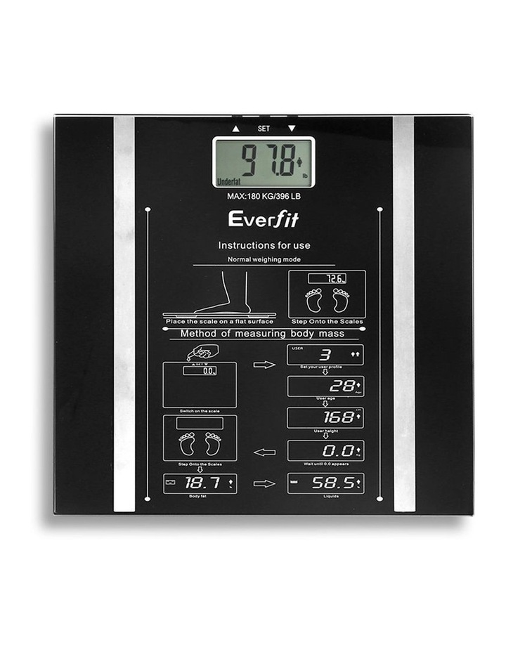 Everfit Electronic Digital Body Fat Scale image 4
