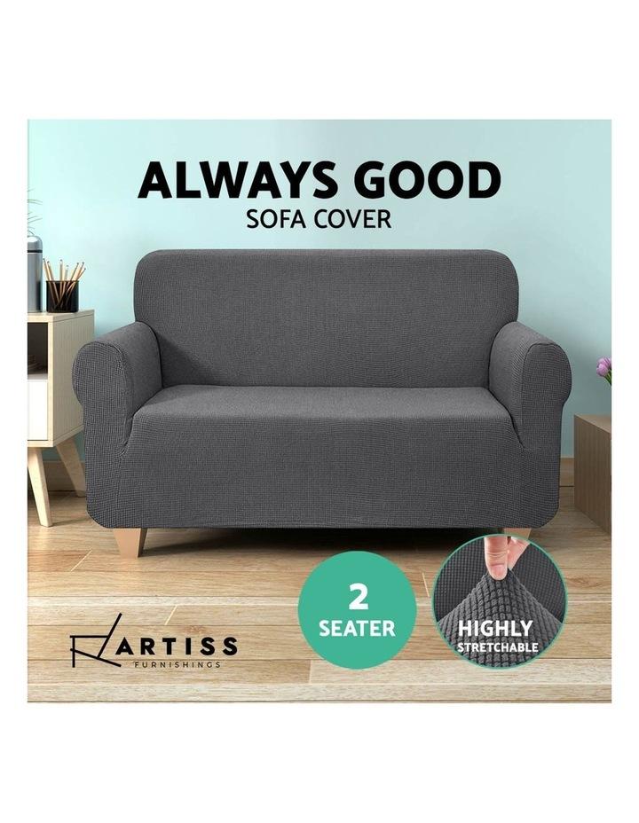 High Stretch Sofa Cover image 5