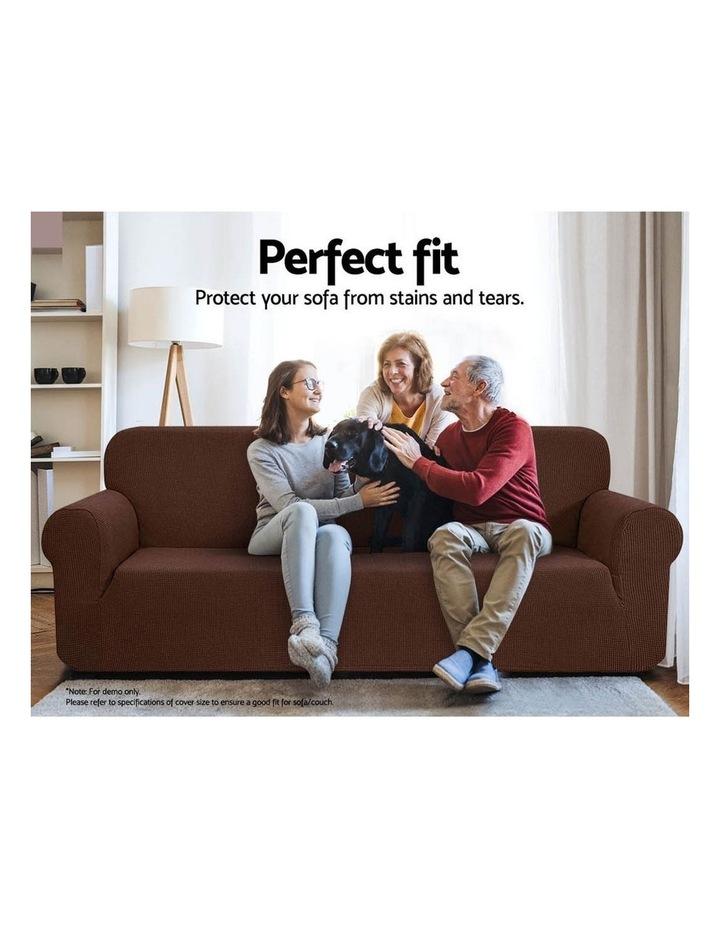 High Stretch Sofa Cover image 4