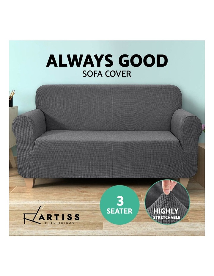 High Stretch Sofa Cover image 5