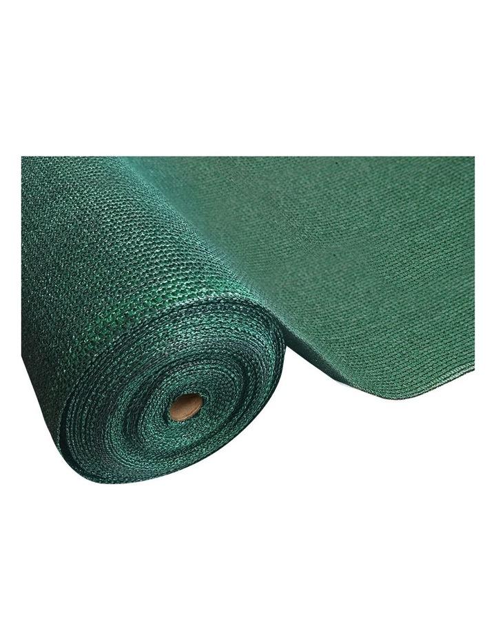 Instahut 50% Sun Shade Cloth Shadecloth Sail Roll Mesh Outdoor Green image 1