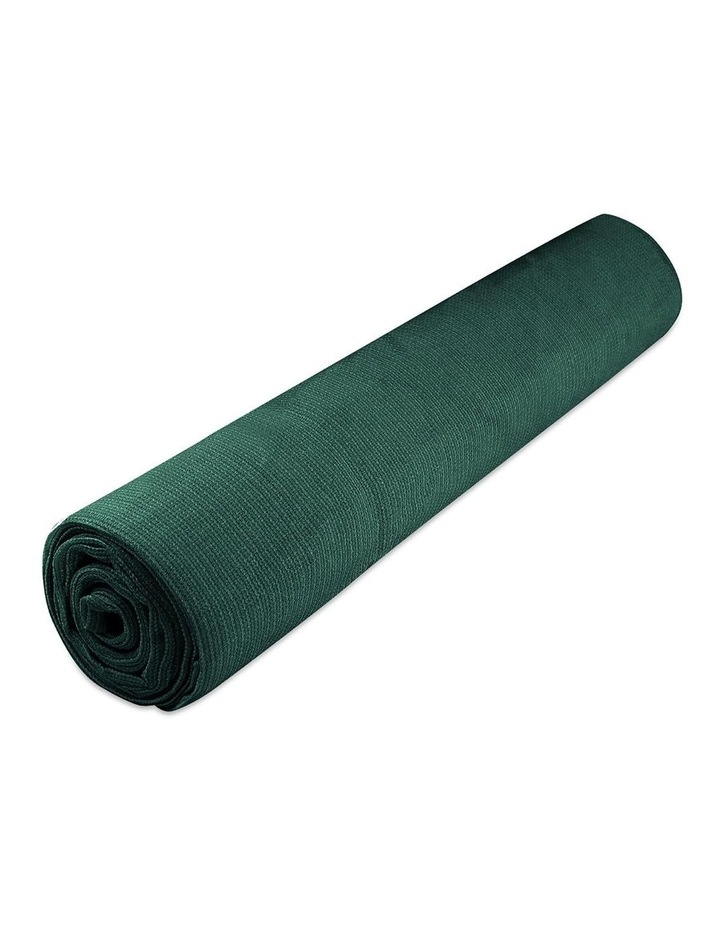Instahut 50% Sun Shade Cloth Shadecloth Sail Roll Mesh Outdoor Green image 3