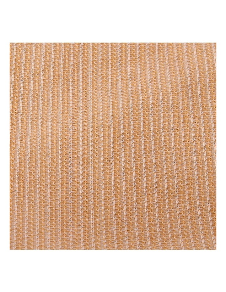 Instahut 70% UV Sun Shade Cloth Outdoor 1.83x50m Beige image 5