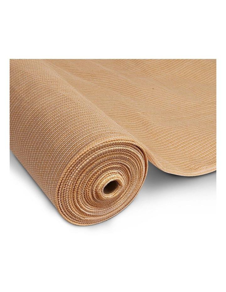 3.66 x 10m Shade Sail Cloth - Beige image 1