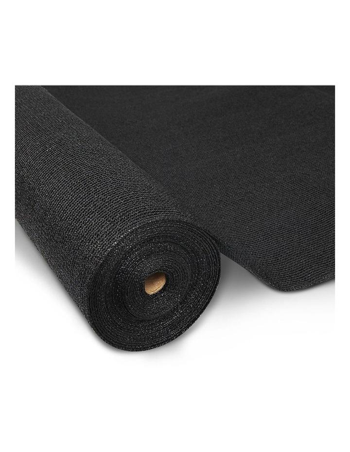 50% UV Sun Shade Cloth Outdoor 3.66x10m Black image 1