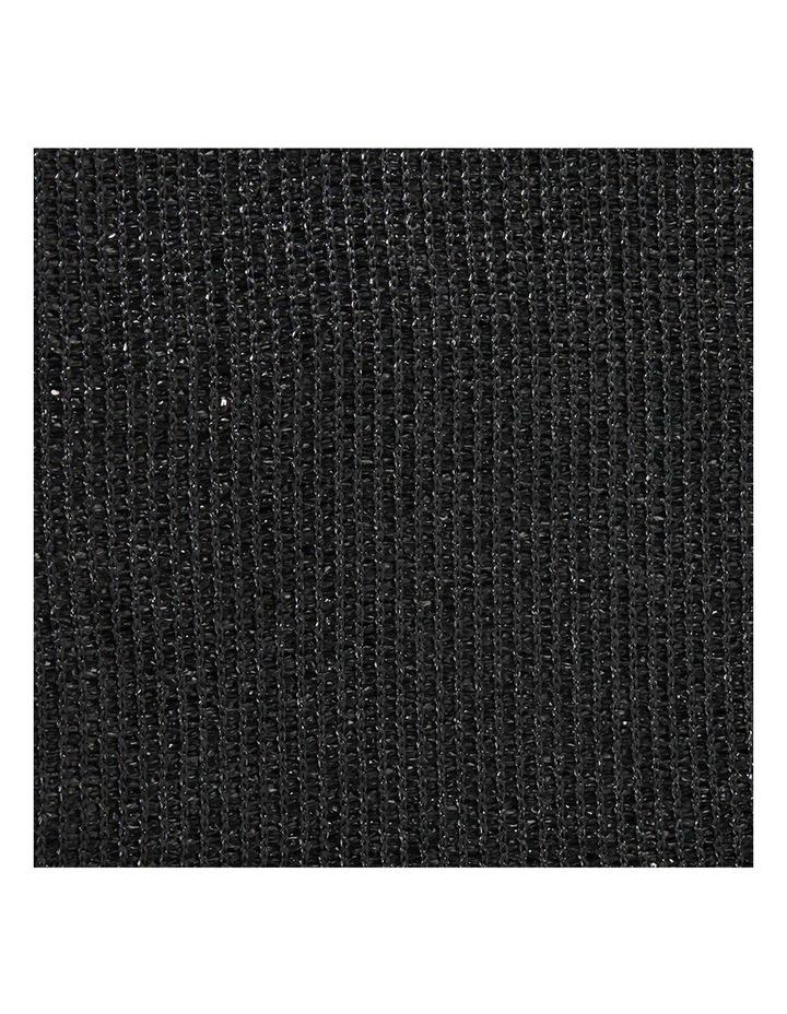 50% UV Sun Shade Cloth Outdoor 3.66x10m Black image 5