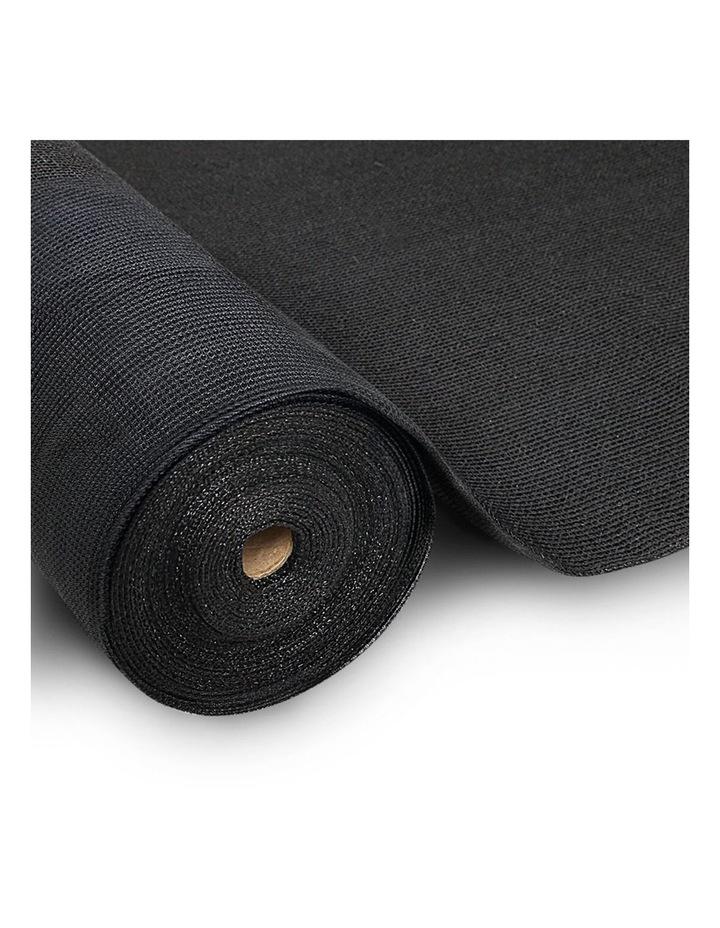 Instahut 3.66x10m 50% UV Shade Cloth Outdoor Black image 1