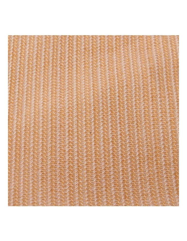 3.66 x 10m Shade Sail Cloth - Beige image 5