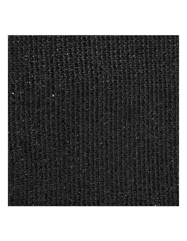 3.66 x 10m Shade Sail Cloth - Black image 5