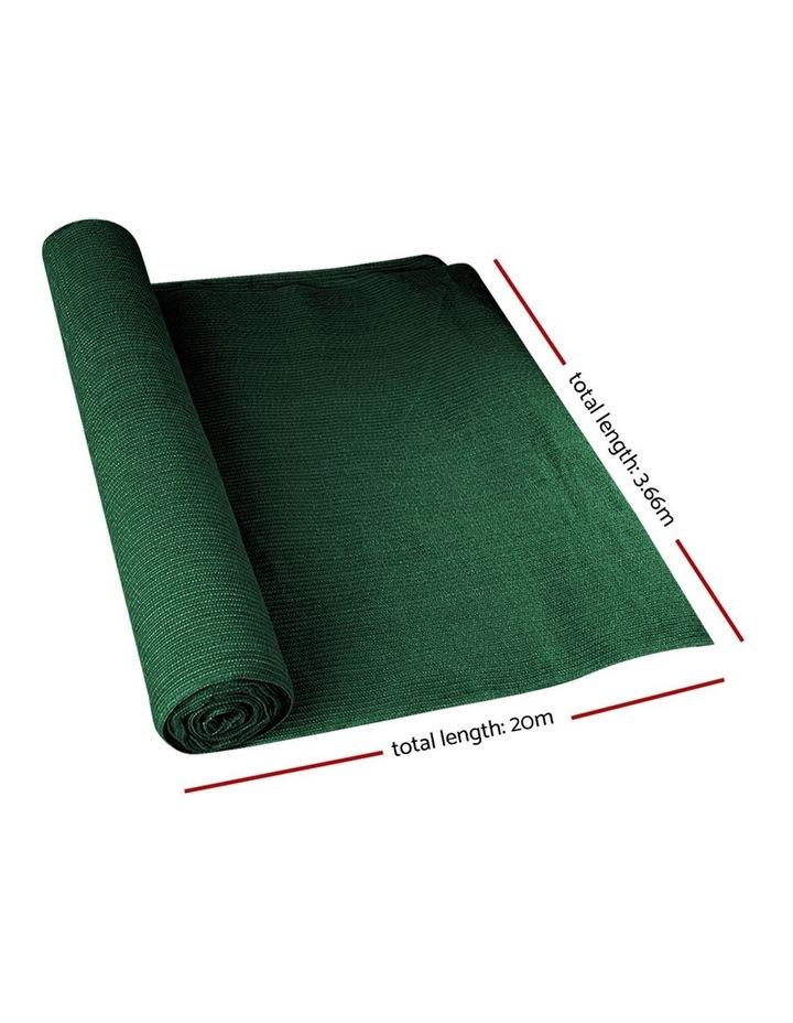 Sun Shade Shady Cloth Shadecloth Sail Roll Mesh Outdoor Green image 2