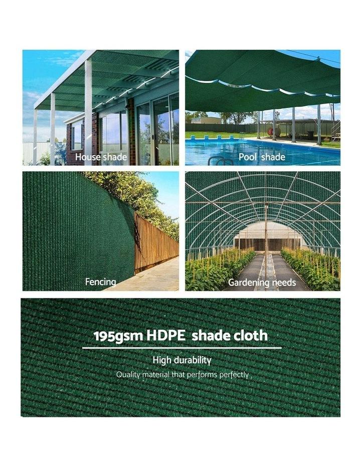 Sun Shade Shady Cloth Shadecloth Sail Roll Mesh Outdoor Green image 5
