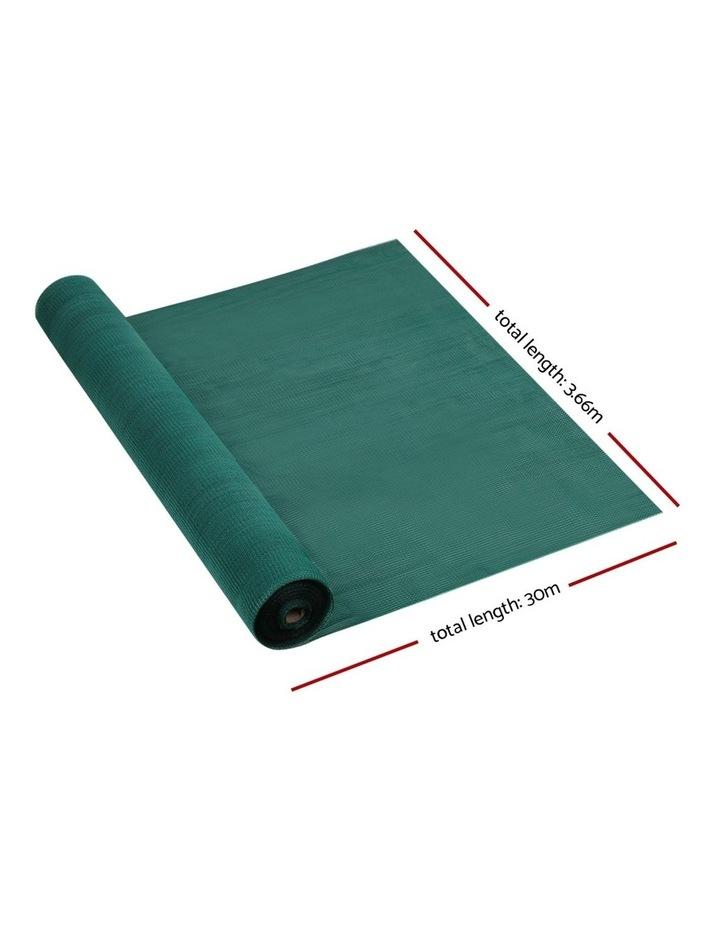 3.66x30m 50% UV Shade Cloth Outdoor Green image 2