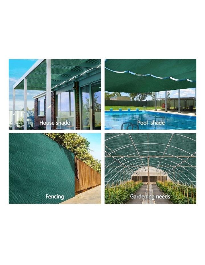 3.66x30m 50% UV Shade Cloth Outdoor Green image 4