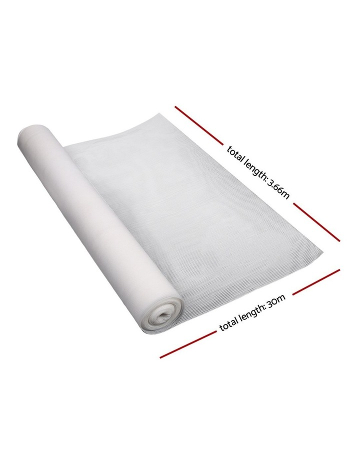 3.66x30m 50% UV Shade Cloth Outdoor White image 2