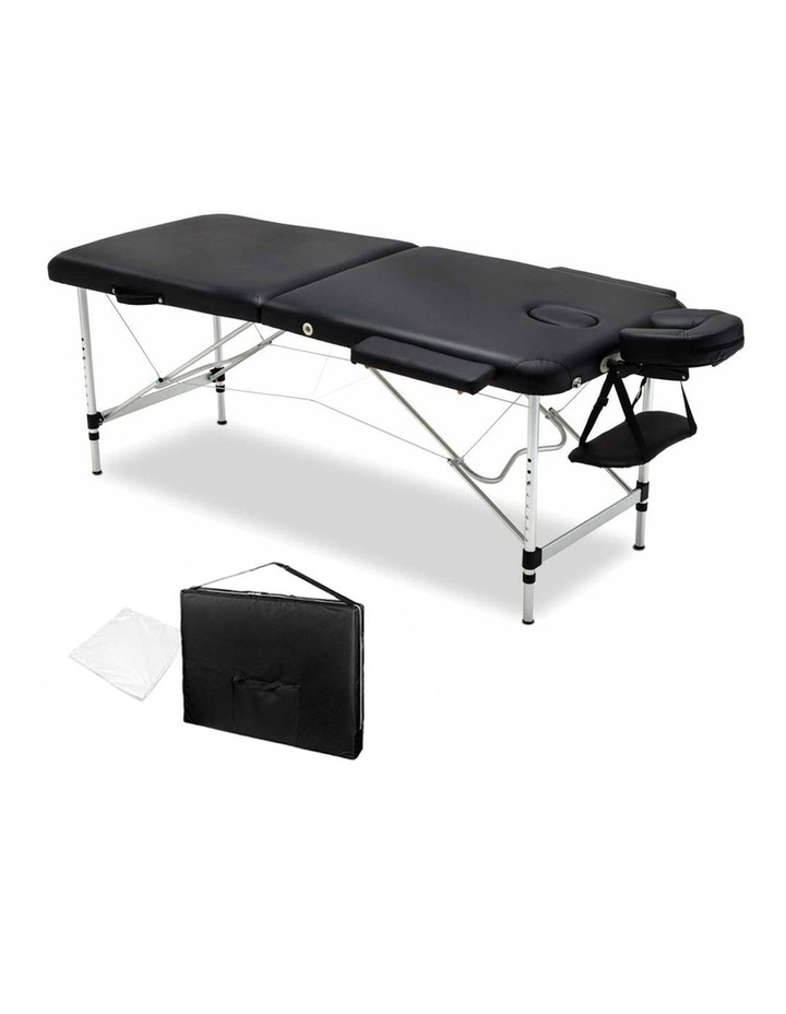 Livemor 2 Fold Portable Aluminium Massage Table image 1