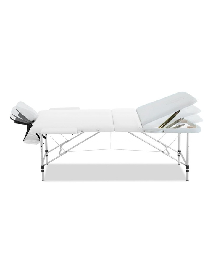 Zenses 80CM Portable 3 Fold Aluminium Massage Table Therapy Beauty Waxing Bed image 3