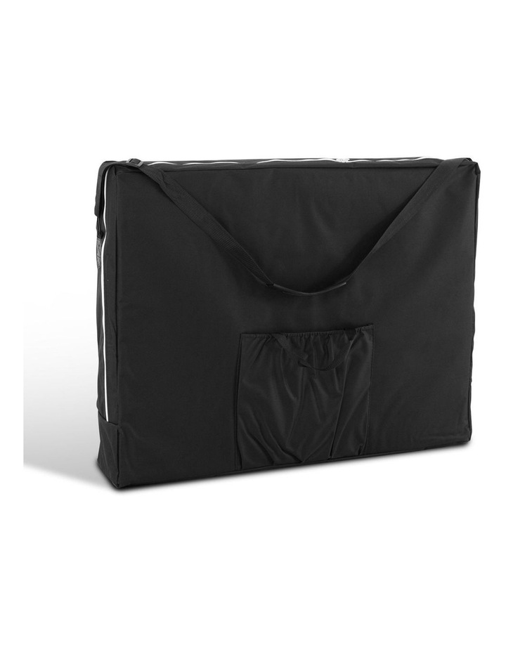 3 Fold Portable Wood Massage Table - White image 3