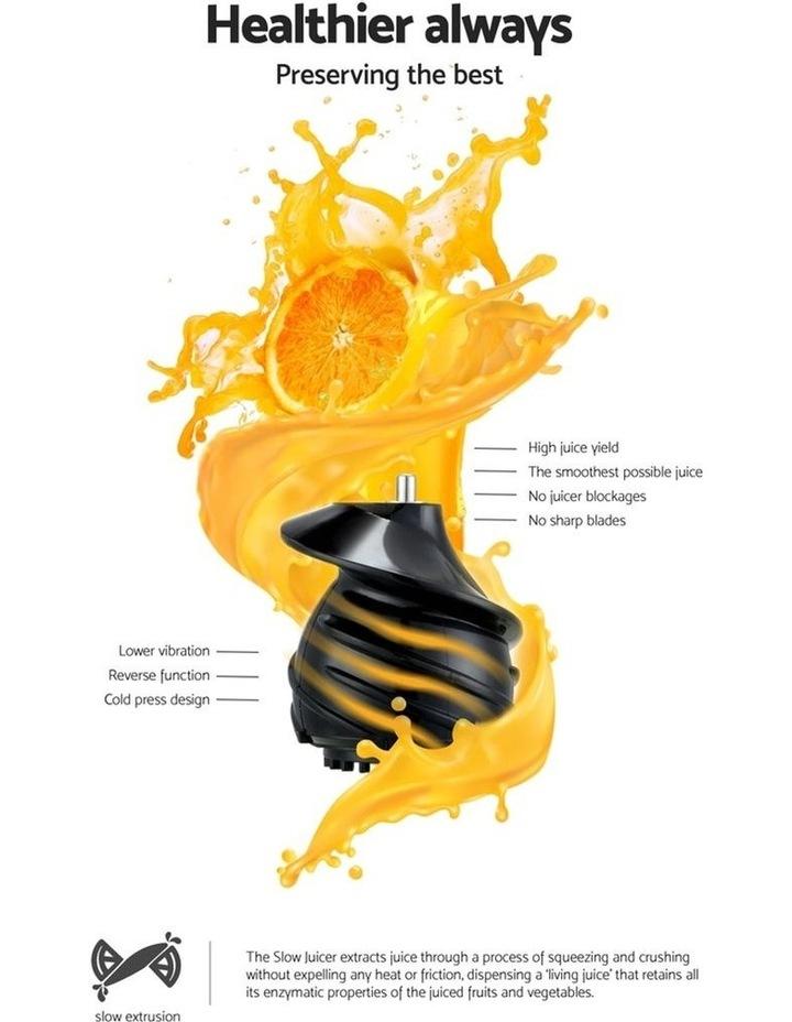 Cold Press Slow Juicer - Black image 4
