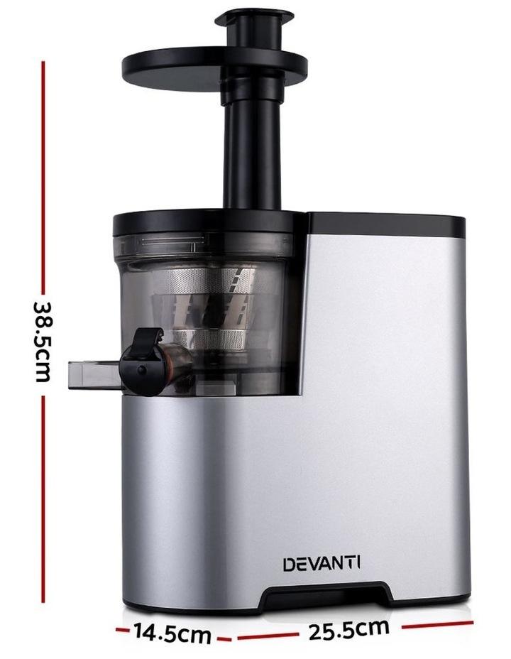 Cold Press Slow Juicer - Silver image 2