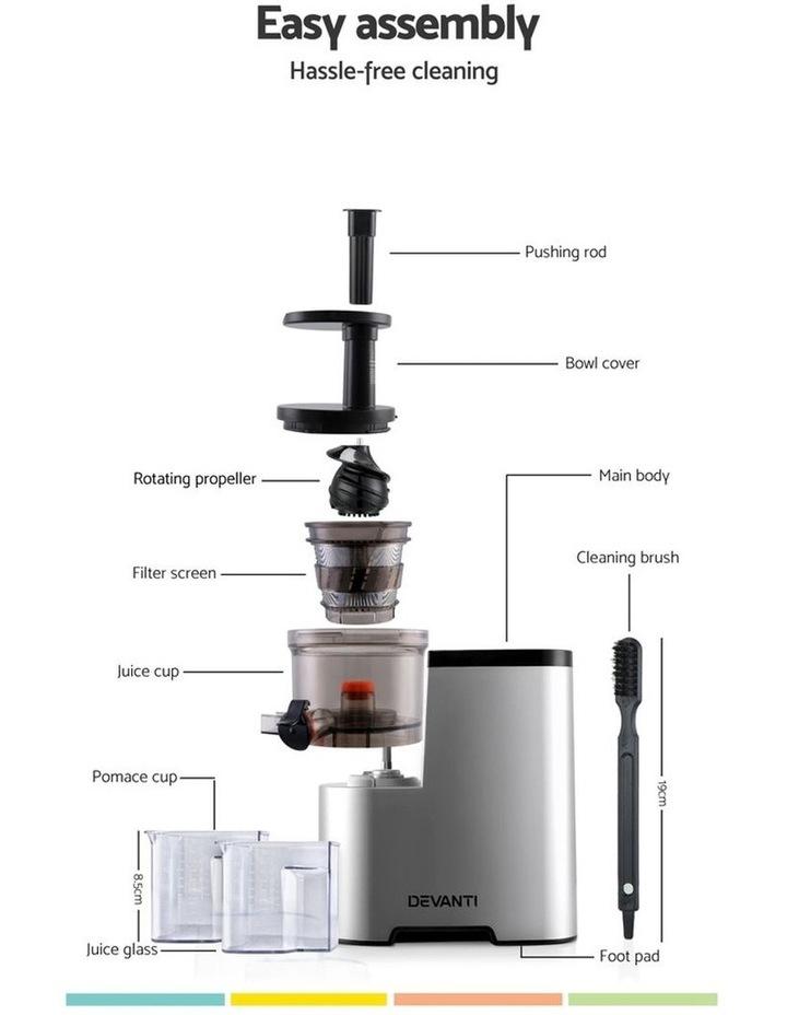 Cold Press Slow Juicer - Silver image 3