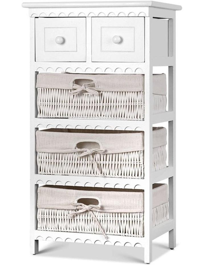 3 Basket Storage Drawers image 1