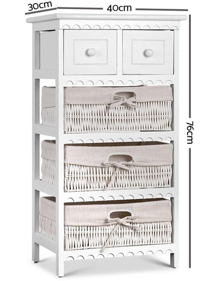 3 Basket Storage Drawers image 2