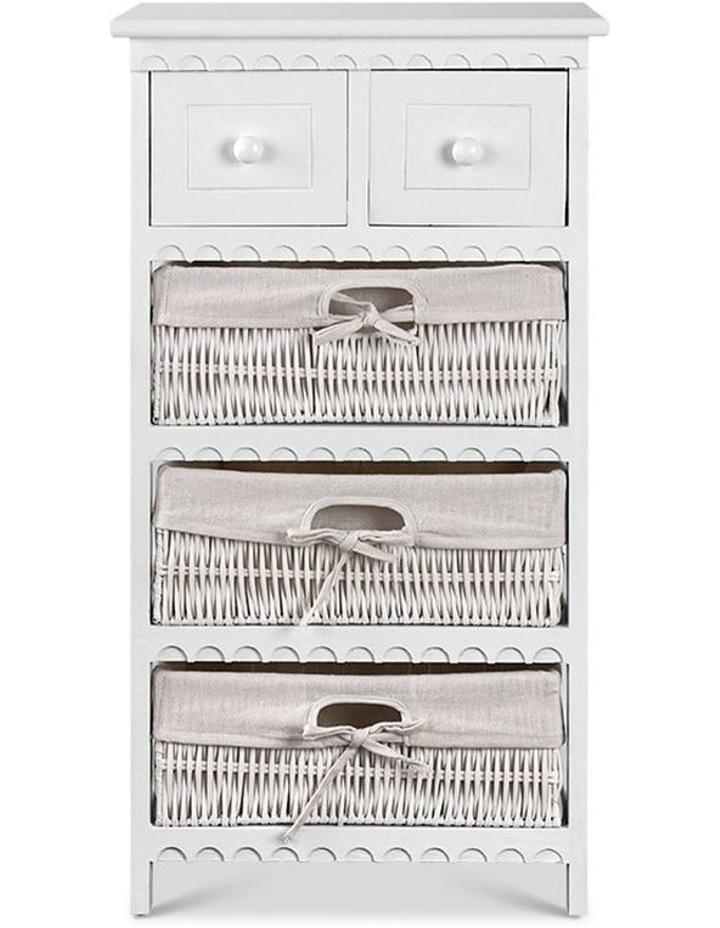 3 Basket Storage Drawers image 3