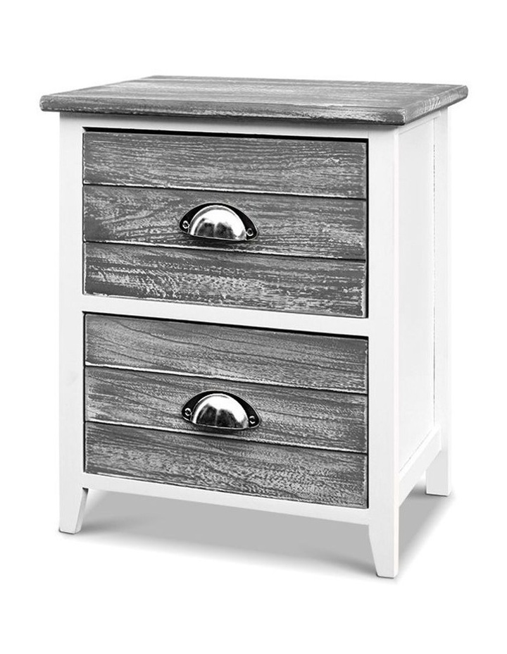 2x Bedside Table Nightstands image 1