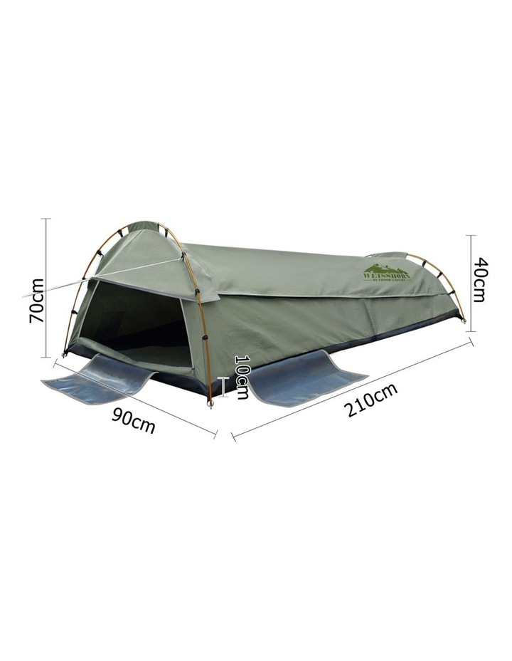 King Single Size Canvas Tent image 2