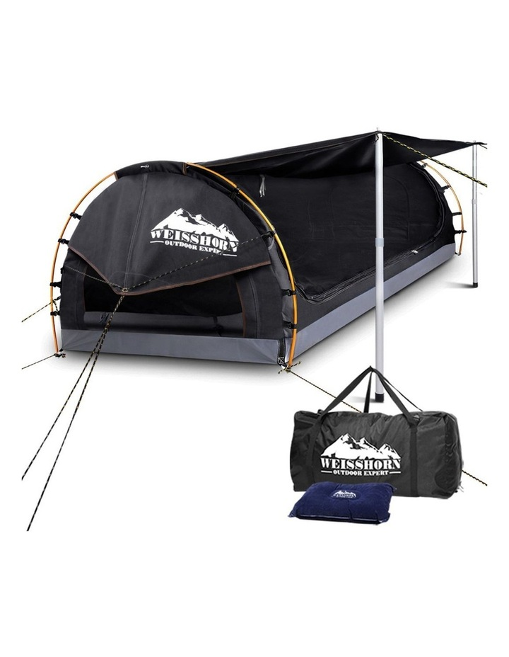 Weisshorn King Single Camping Swags - Grey image 1