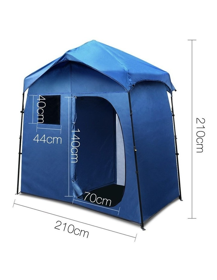 Portable Pop Up Outdoor Toilet and Change Room Tent image 2