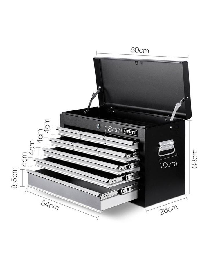 9 Drawer Mechanic Tool Box Storage - Black and Grey image 2