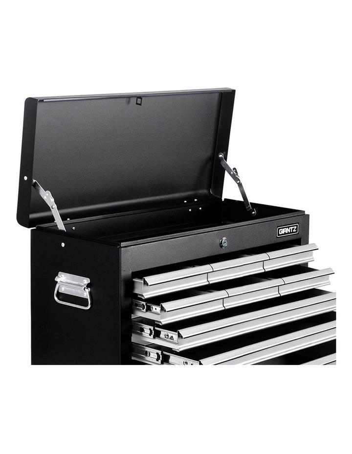9 Drawer Mechanic Tool Box Storage - Black and Grey image 4