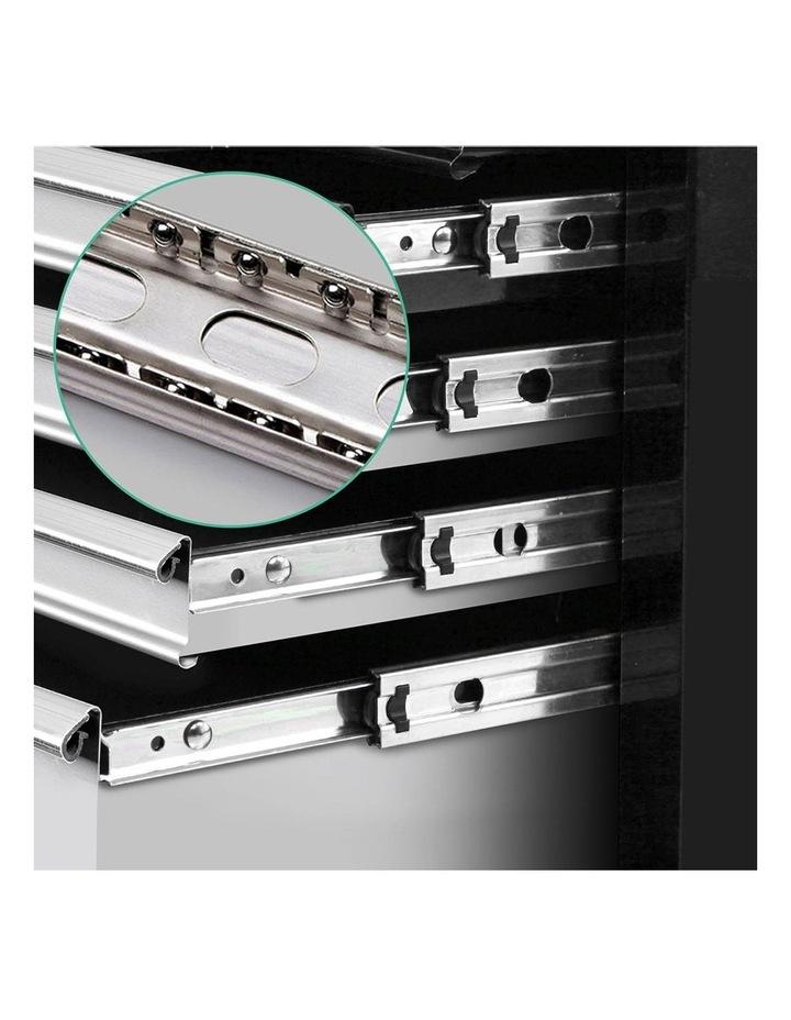 9 Drawer Mechanic Tool Box Storage - Black and Grey image 5
