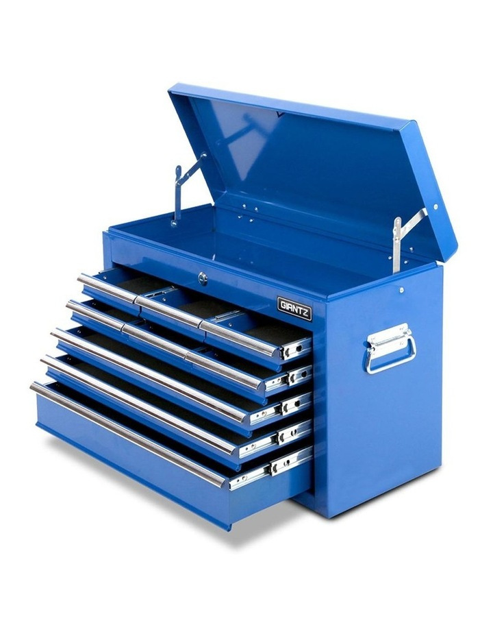 9 Drawer Mechanic Tool Box Storage - Blue image 1