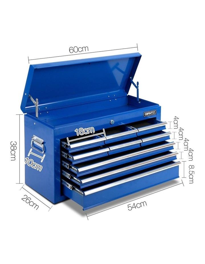 9 Drawer Mechanic Tool Box Storage - Blue image 2