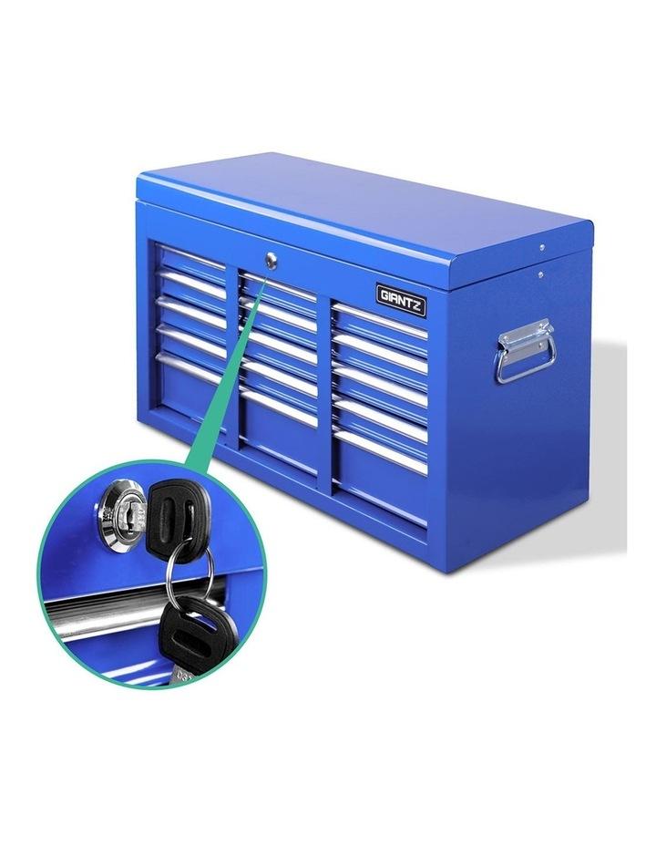 9 Drawer Mechanic Tool Box Storage - Blue image 4