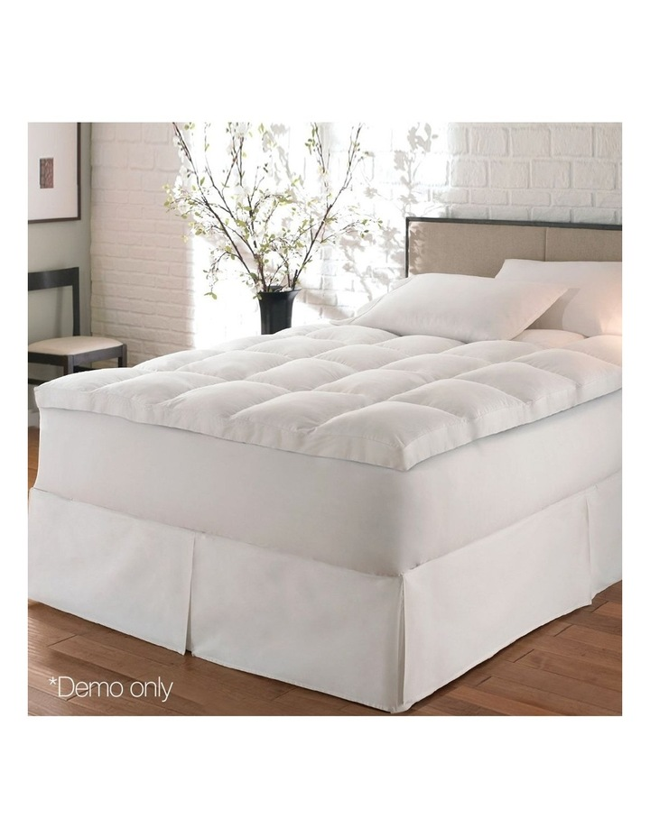 Duck Feather Down Mattress Topper image 3