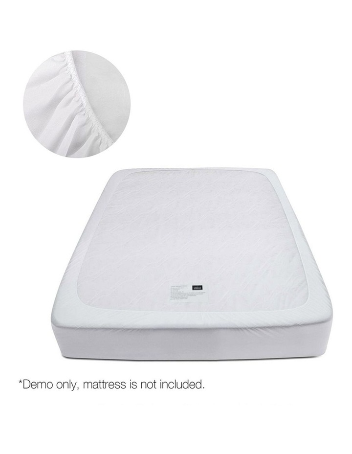 Duck Feather Down Mattress Topper image 4
