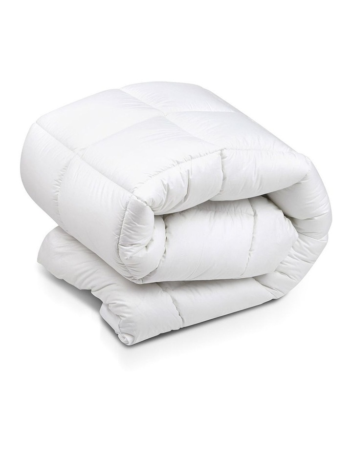 Double Size Duck Feather & Down Mattress Topper image 1
