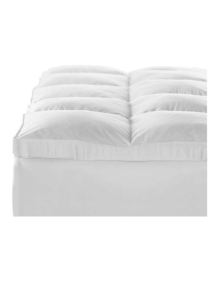 Double Size Duck Feather & Down Mattress Topper image 4
