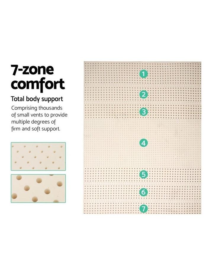 7 Zone Pure Natural Latex Mattress Topper image 4