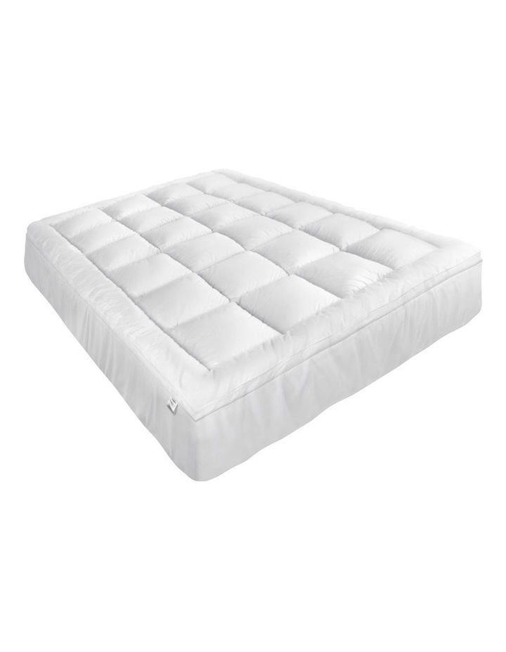 Double Size Memory Resistant Mattress Topper image 1