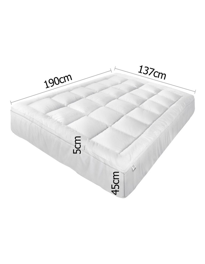 Double Size Memory Resistant Mattress Topper image 2