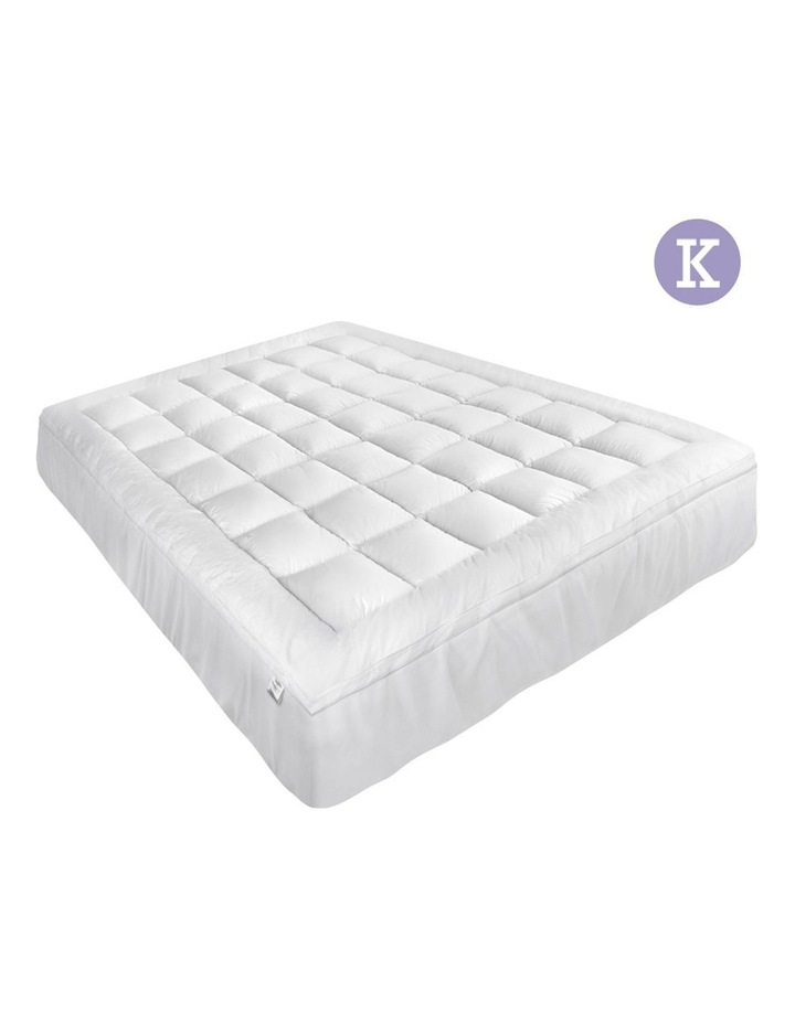 Giselle Bedding King Size Memory Resistant Mattress Topper image 1